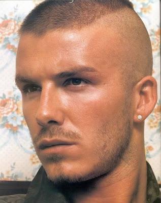 David Beckham Crew Cut