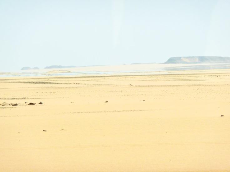 abu simbel mirage desert