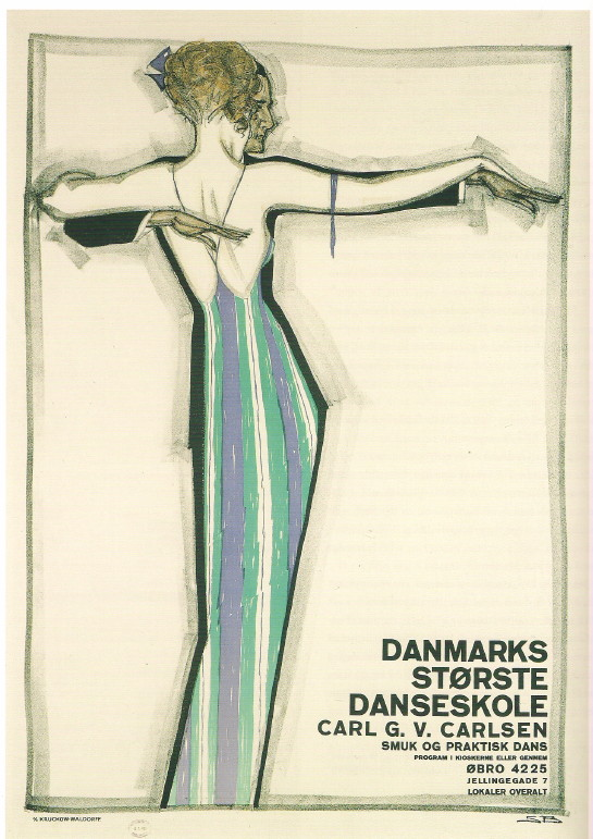 dinamarca danmark poster cartel dance We danced all night   encore