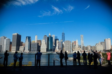 Financial District as seen from Brooklyn Heights