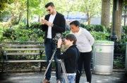 Random amateur filming in Union Square