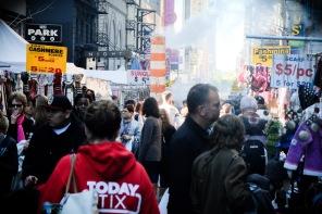 Hispanic market off Avenue of the Americas & 47th