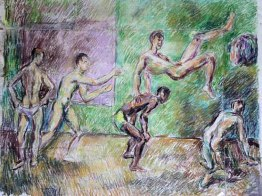 male nudes by duncan grant